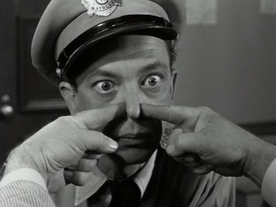The Barney Fife edition - the nate update